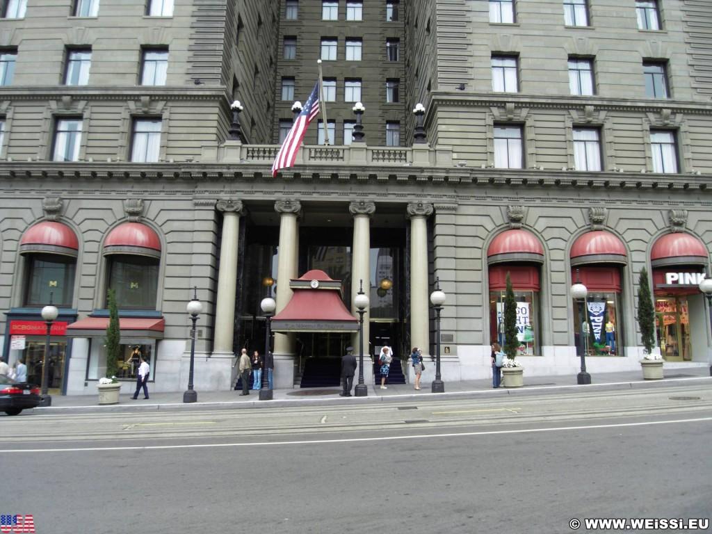 San Francisco. - Westküste, Gebäude, Hotel, Unterkunft, The Westin St. Francis, San Francisco - (Chinatown, San Francisco, California, Vereinigte Staaten)