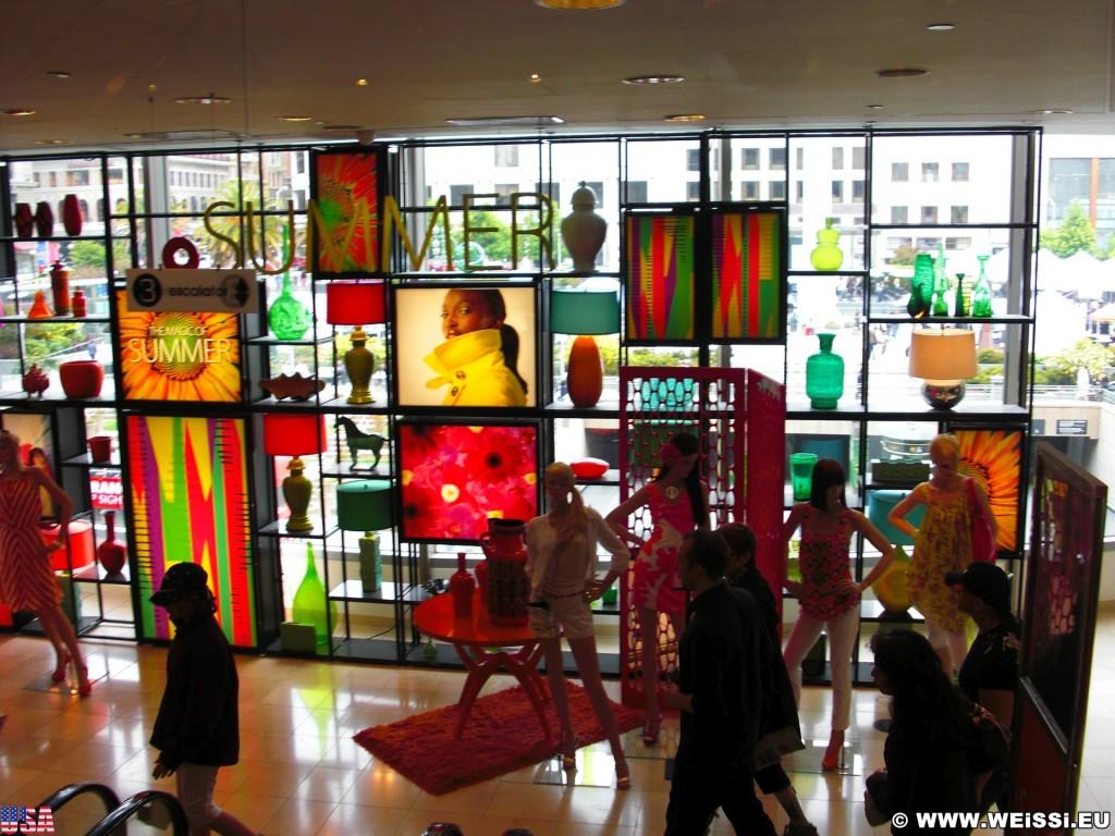 San Francisco. - Westküste, Kaufhaus, Macys, San Francisco - (Chinatown, San Francisco, California, Vereinigte Staaten)