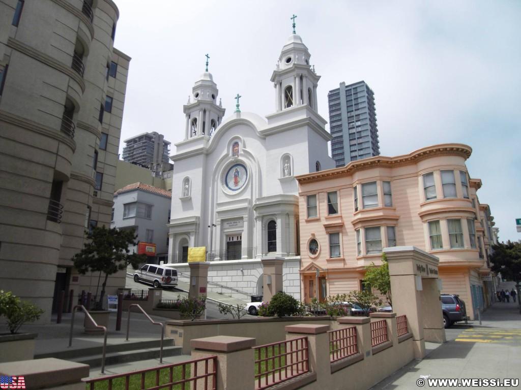 San Francisco. - Westküste, Kirche, Nuestra Senora de Guadalupe, San Francisco - (Chinatown, San Francisco, California, Vereinigte Staaten)