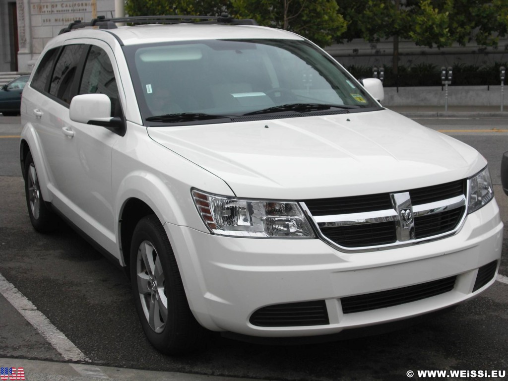 San Francisco. - Westküste, Auto, Dodge Journey, San Francisco - (Opera Plaza, San Francisco, California, Vereinigte Staaten)