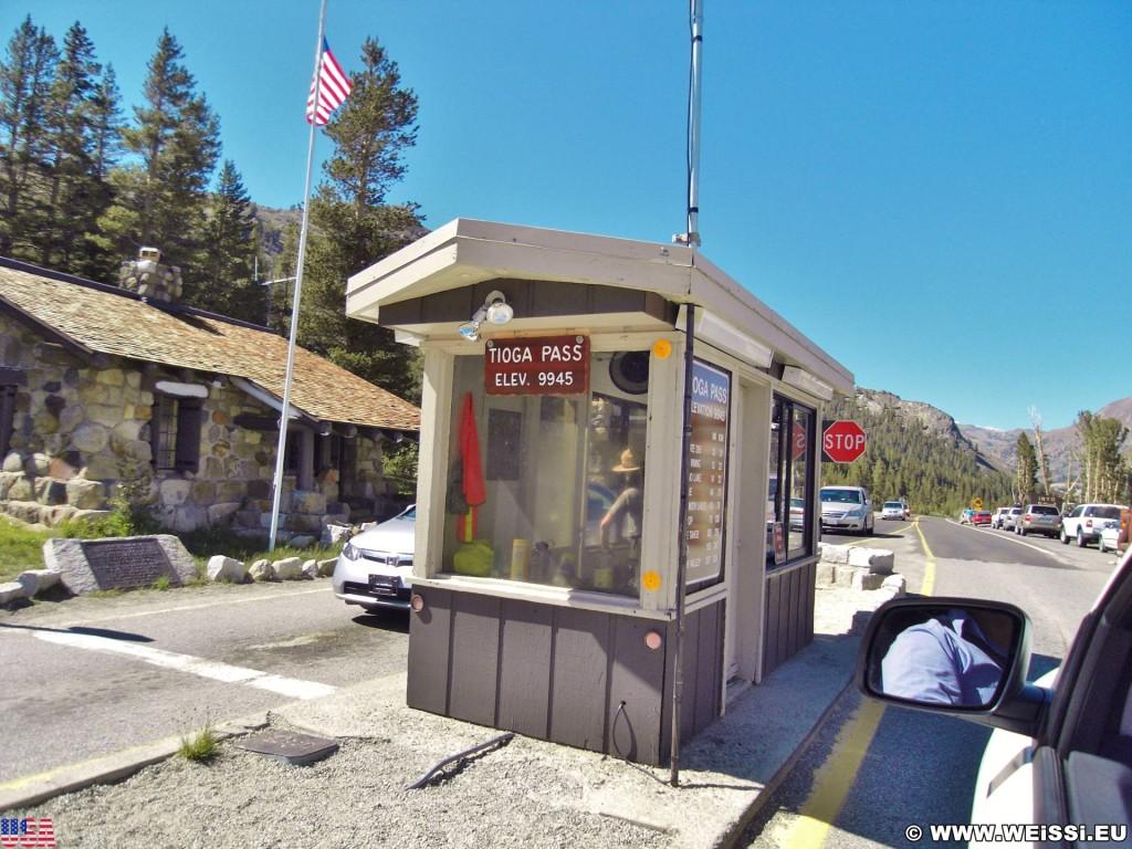 Yosemite National Park. - Yosemite Nationalpark, Ranger Station, Tioga Pass - (Lee Vining, Yosemite National Park, California, Vereinigte Staaten)