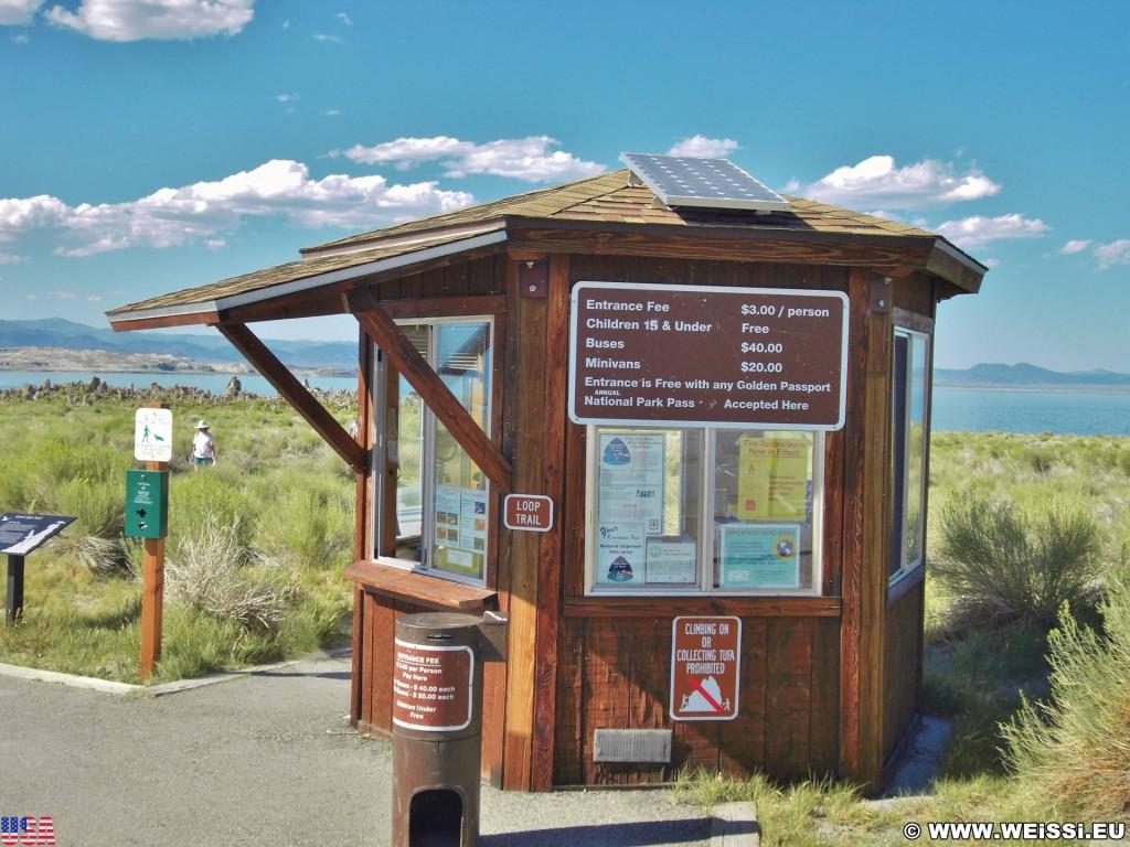 Mono Lake. - Ranger Station, Mono Lake - (Mono Mills, Lee Vining, California, Vereinigte Staaten)