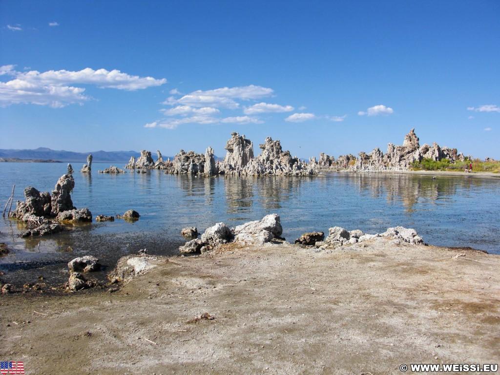Mono Lake. - See, Mono Lake, Salzsee, Kalktufftürme, Tufa Towers - (Lee Vining, California, Vereinigte Staaten)