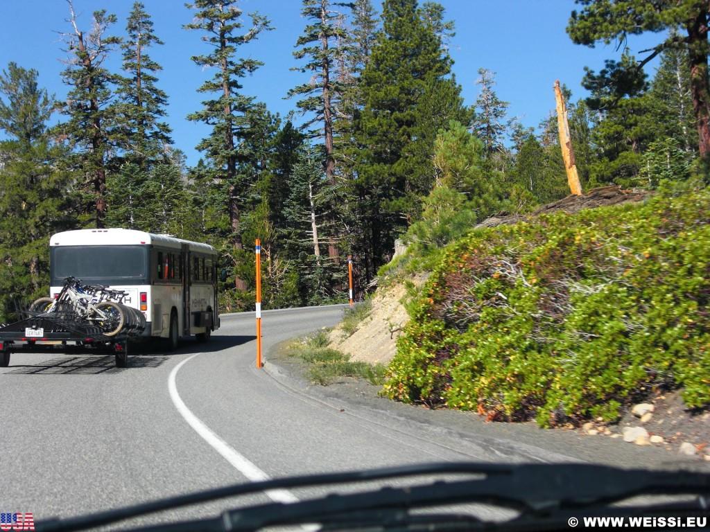 Mammoth Lakes. - Mammoth Lakes, Autobus, Bus - (Mammoth Lakes, California, Vereinigte Staaten)