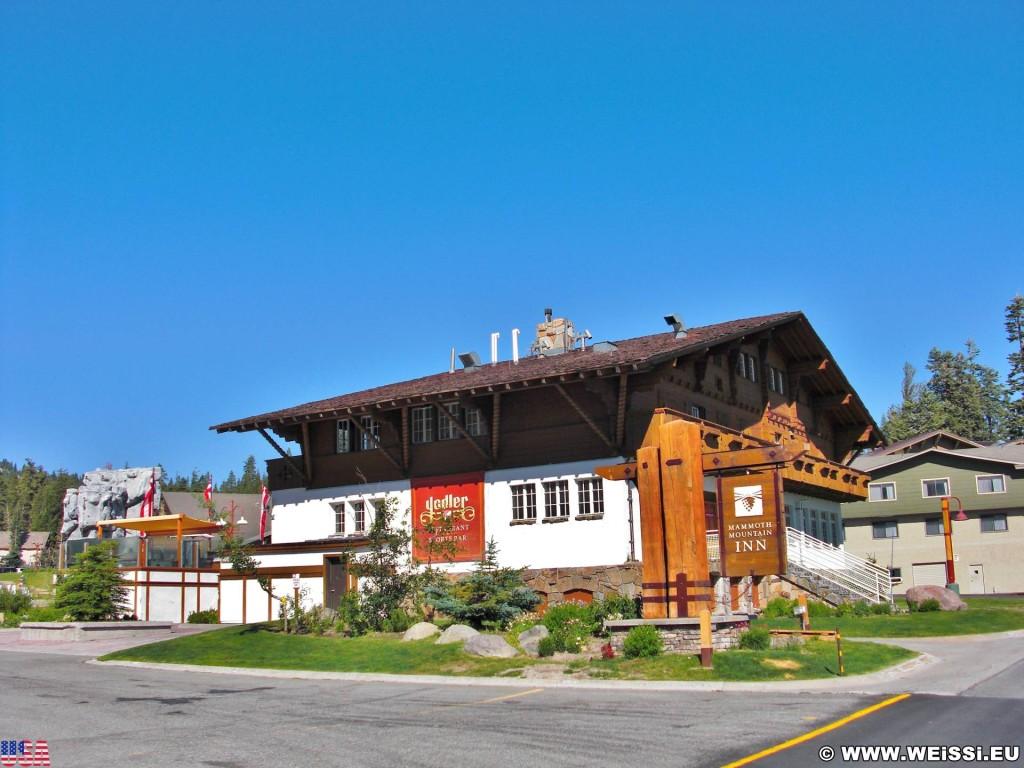 Mammoth Lakes. - Gebäude, Haus, Mammoth Lakes, Mammoth Mountain Inn - (Mill City (historical), Mammoth Lakes, California, Vereinigte Staaten)