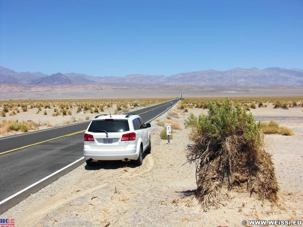 Death Valley National Park. - Death-Valley-Nationalpark, Devils Cornfield - (Beatty Junction, Death Valley, California, Vereinigte Staaten)