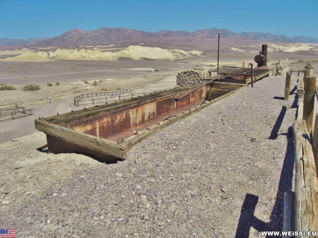 Death Valley National Park. - Death-Valley-Nationalpark, Harmony Borax Works - (Indian Village, Death Valley, California, Vereinigte Staaten)