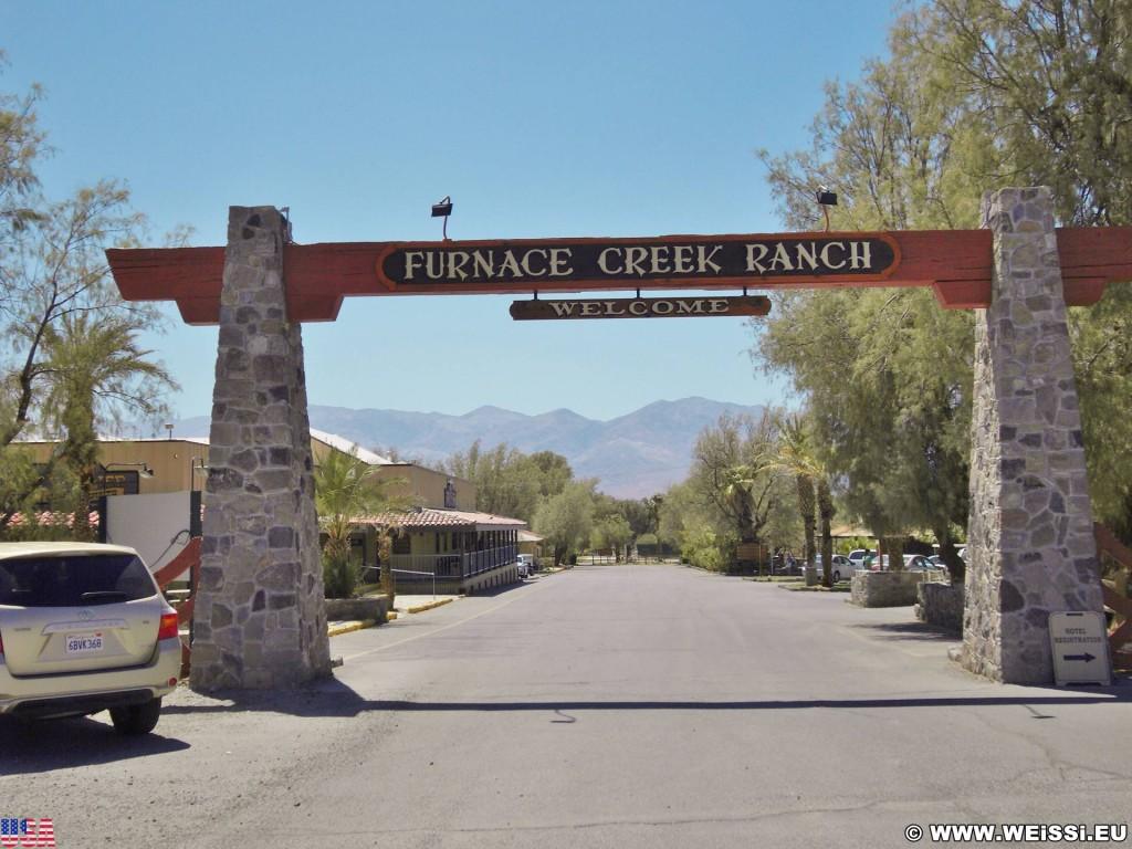 Death Valley National Park. - Death-Valley-Nationalpark, Furnace Creek - (Indian Village, Death Valley, California, Vereinigte Staaten)