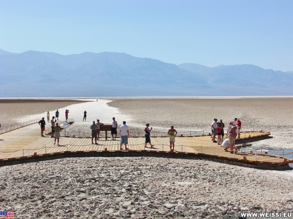 Death Valley National Park. - Death-Valley-Nationalpark, Badwater Basin - (Badwater, Death Valley, California, Vereinigte Staaten)