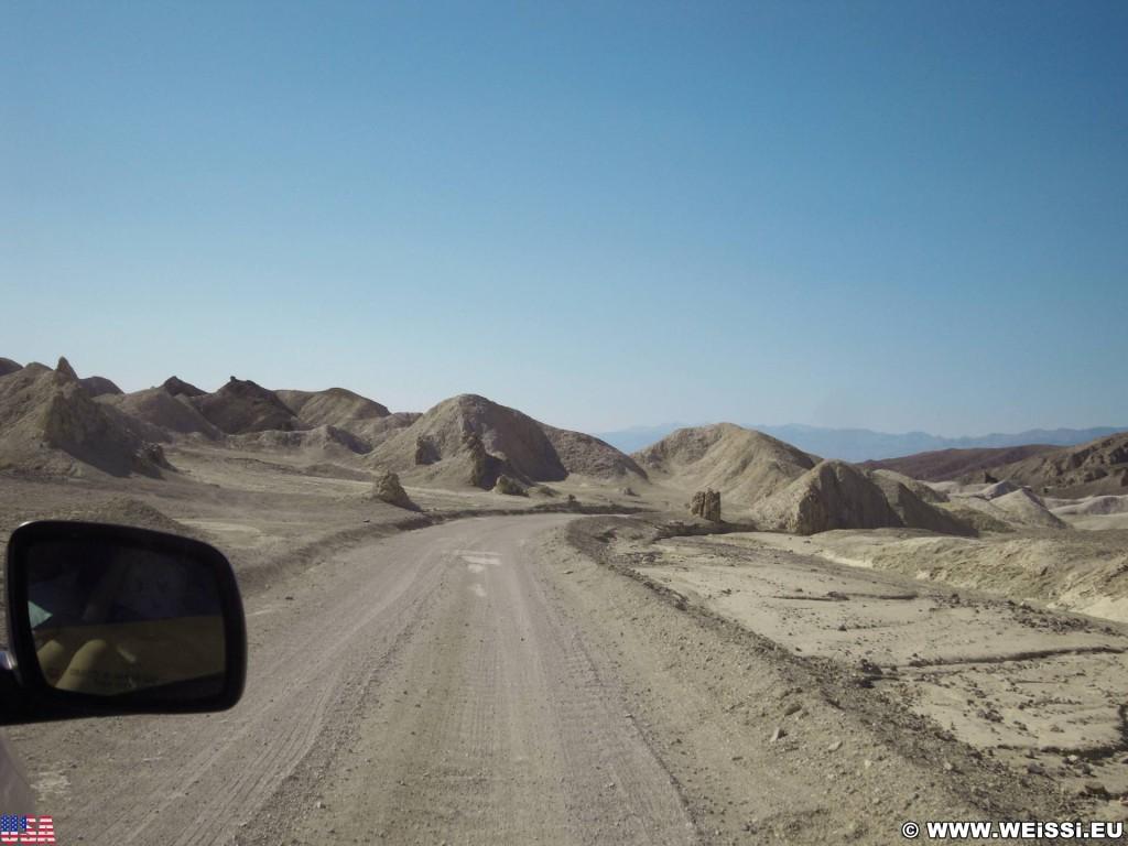 Death Valley National Park. - Death-Valley-Nationalpark, Twenty Mule Team Canyon - (Furnace Creek, Death Valley, California, Vereinigte Staaten)