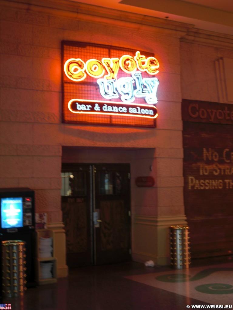 Las Vegas. - Las Vegas, Bar, Coyote Ugly, Dance Saloon - (Bracken, Las Vegas, Nevada, Vereinigte Staaten)