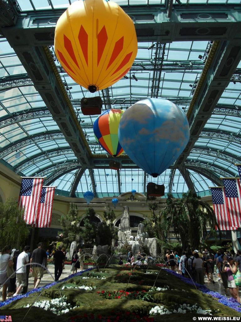 Las Vegas. - Bäume, Las Vegas, Hotel Bellagio, Winter Garden, Natur, Wintergarten, Botanischer Garten, Pflanzen, Blumen - (Bracken, Las Vegas, Nevada, Vereinigte Staaten)
