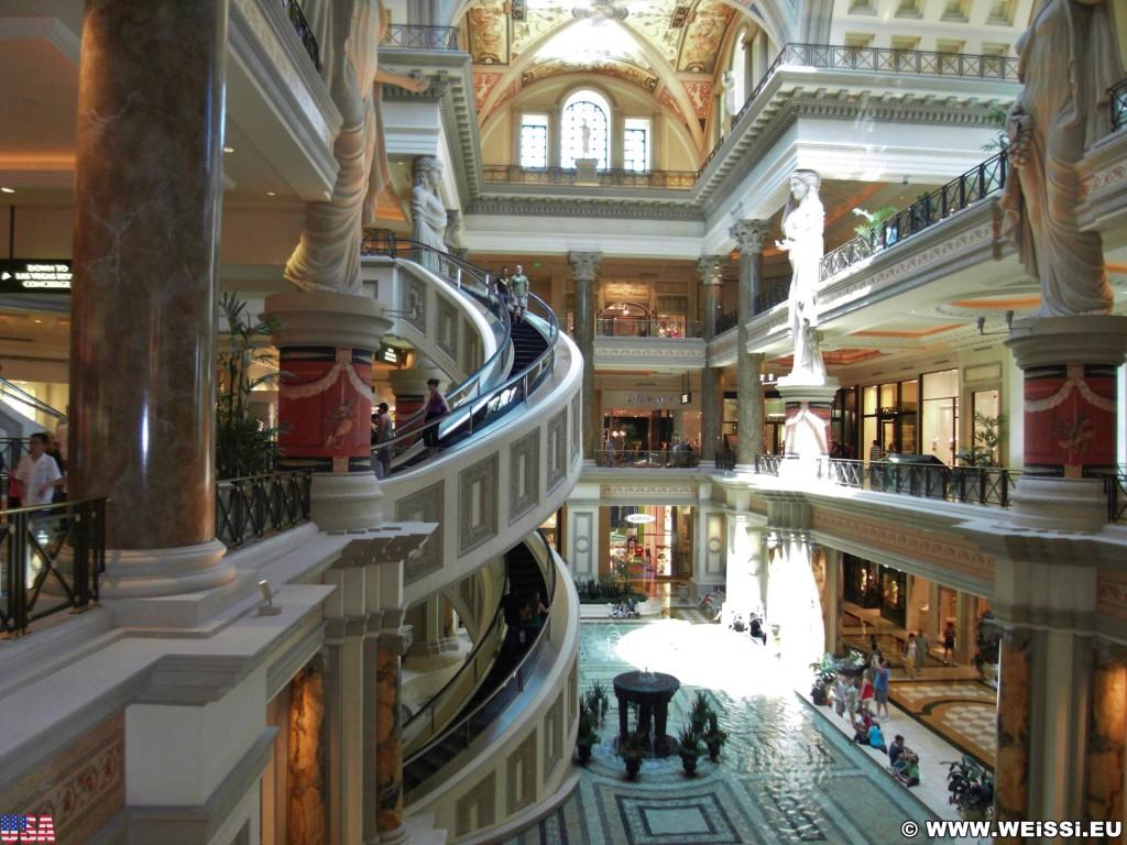 Las Vegas. - Las Vegas, Rolltreppe - (Bracken, Las Vegas, Nevada, Vereinigte Staaten)