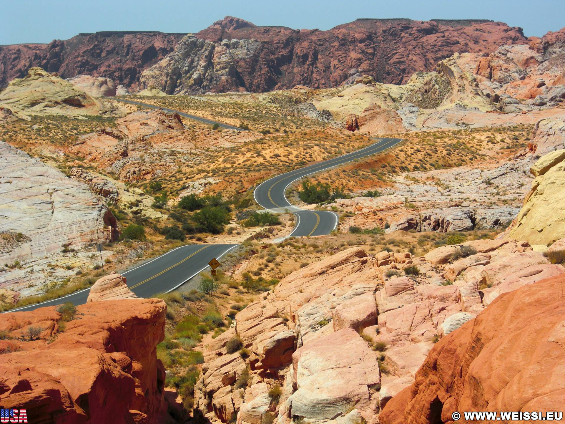 12. Tag, Valley of Fire State Park und Zion Nationalpark
