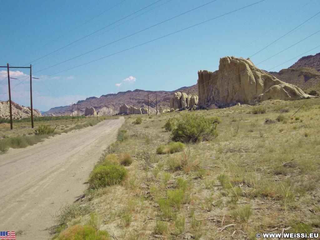 Cottonwood Canyon Road. - Strasse, Landschaft, Cottonwood Canyon Road, Grand Staircase Escalante National Monument - (Paria, Kanab, Utah, Vereinigte Staaten)
