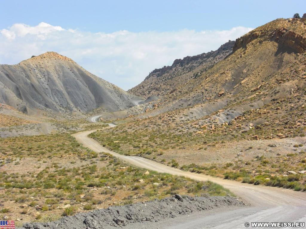 Cottonwood Canyon Road. - Strasse, Landschaft, Berg, Cottonwood Canyon Road, Grand Staircase Escalante National Monument, Canyon, Hügel - (Paria, Kanab, Utah, Vereinigte Staaten)