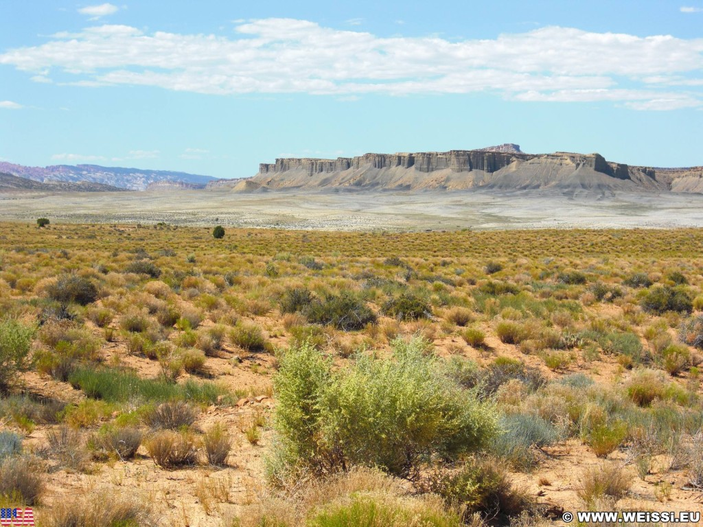 Burr Trail. Burr Trail Scenic Backway. - Landschaft, Scenic Backway, Burr Trail - (Eggnog, Boulder, Utah, Vereinigte Staaten)