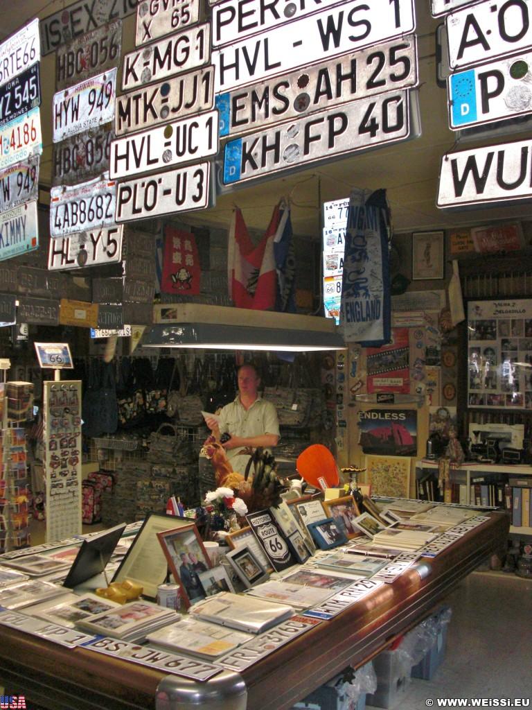 Historic Route 66. - Gift Shop, Route 66, Seligman - (Seligman, Arizona, Vereinigte Staaten)