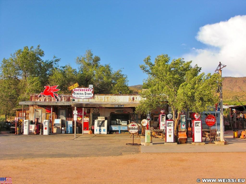 Historic Route 66. - Tankstelle, General Store, Route 66, Hackberry - (Hackberry, Kingman, Arizona, Vereinigte Staaten)