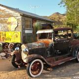 Historic Route 66. - Auto, Route 66, Hackberry - (Hackberry, Kingman, Arizona, Vereinigte Staaten)