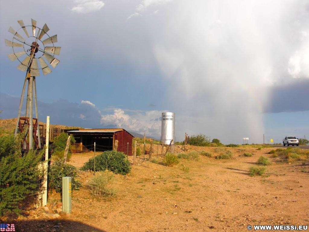 Historic Route 66. - Route 66, Hackberry - (Hackberry, Kingman, Arizona, Vereinigte Staaten)