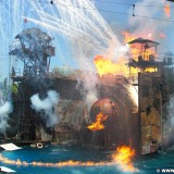 Universal Studios Hollywood. Waterworld - Universal Studios Hollywood. - Los Angeles, Universal Studios Hollywood, Waterworld, Stuntshow, Show - (Universal City, California, Vereinigte Staaten)