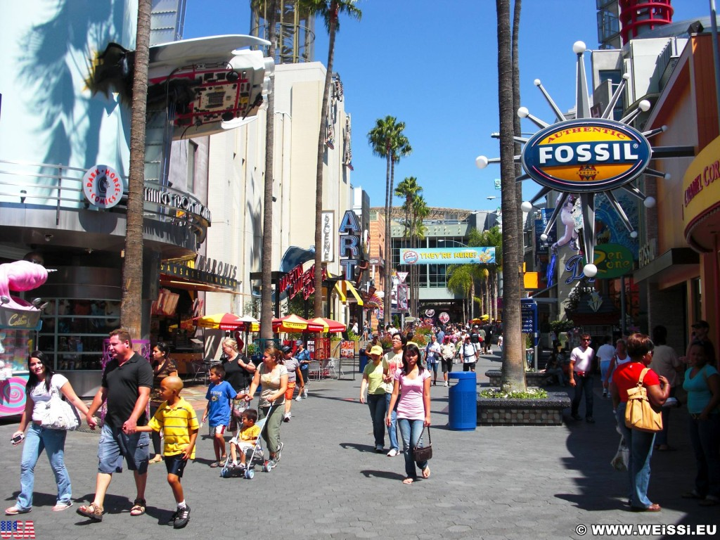 Universal Studios Hollywood. - Los Angeles, Universal Studios Hollywood, Universal City - (Universal City, Los Angeles, California, Vereinigte Staaten)