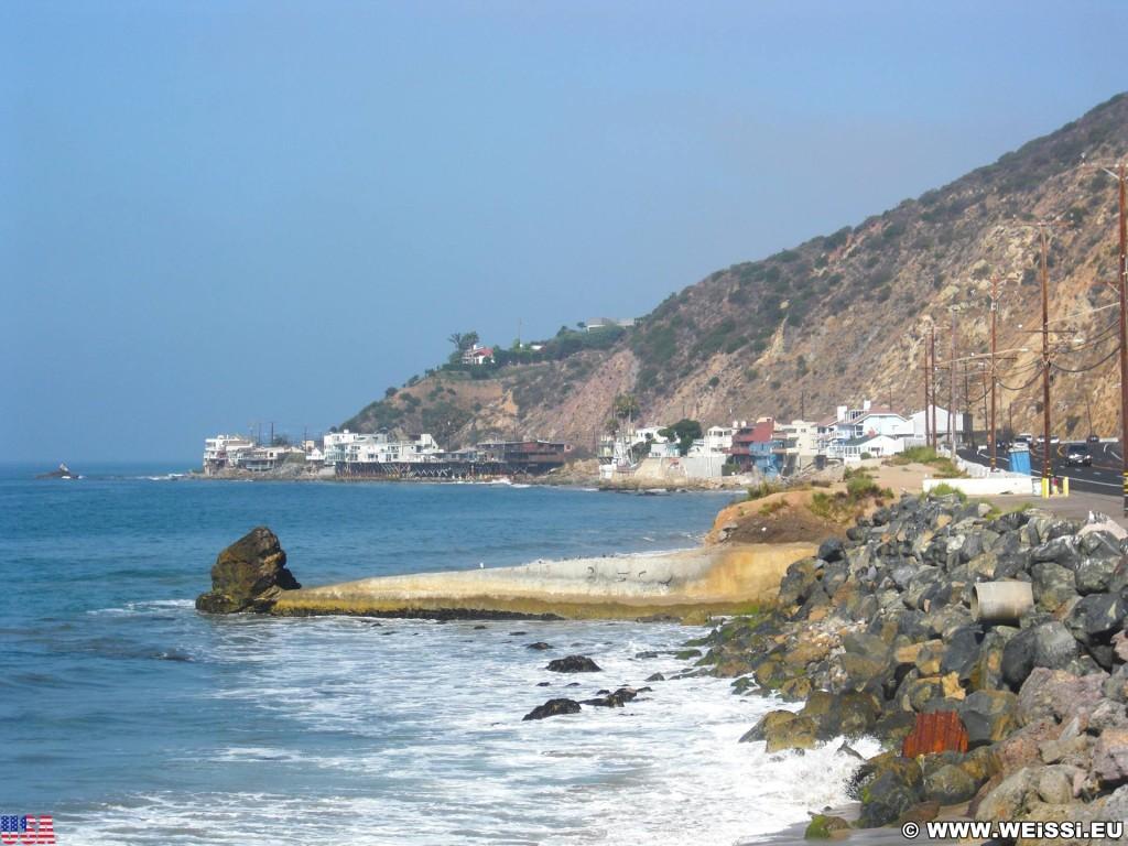 Malibu. - Westküste, Malibu, Küste - (Topanga Beach, Topanga, California, Vereinigte Staaten)