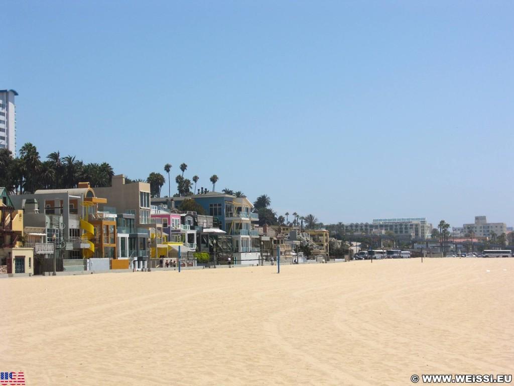 Santa Monica. - Westküste, Strand, Pazifik, Santa Monica, Beach - (Santa Monica, California, Vereinigte Staaten)
