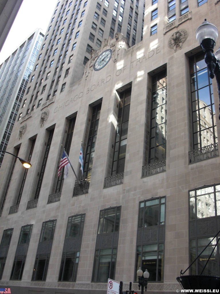 Chicago Board of Trade. - Fort Dearborn Addition - (Fort Dearborn Addition, Chicago, Illinois, Vereinigte Staaten)