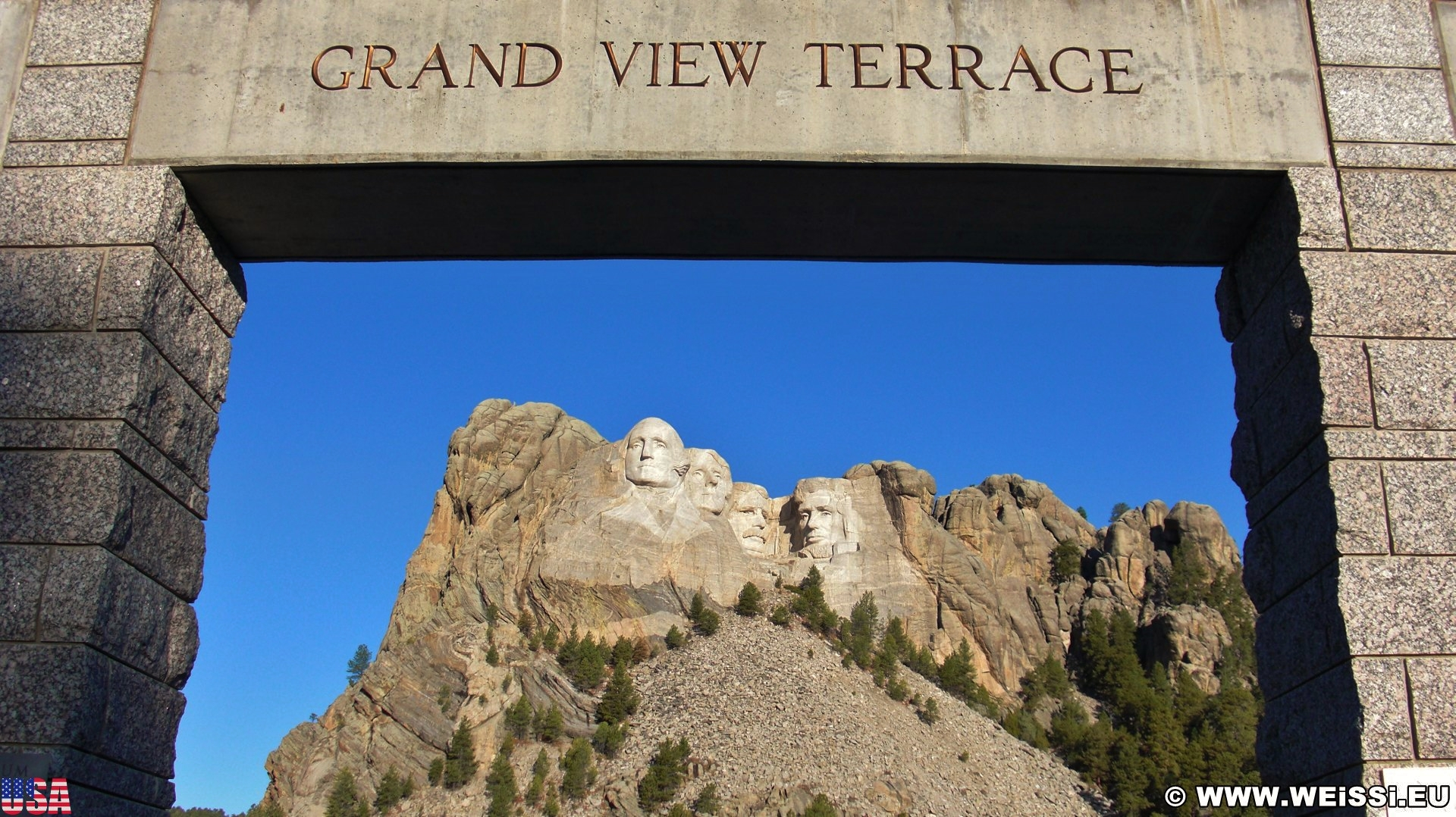 7. Tag, Mount Rushmore, Crazy Horse und Devils Tower