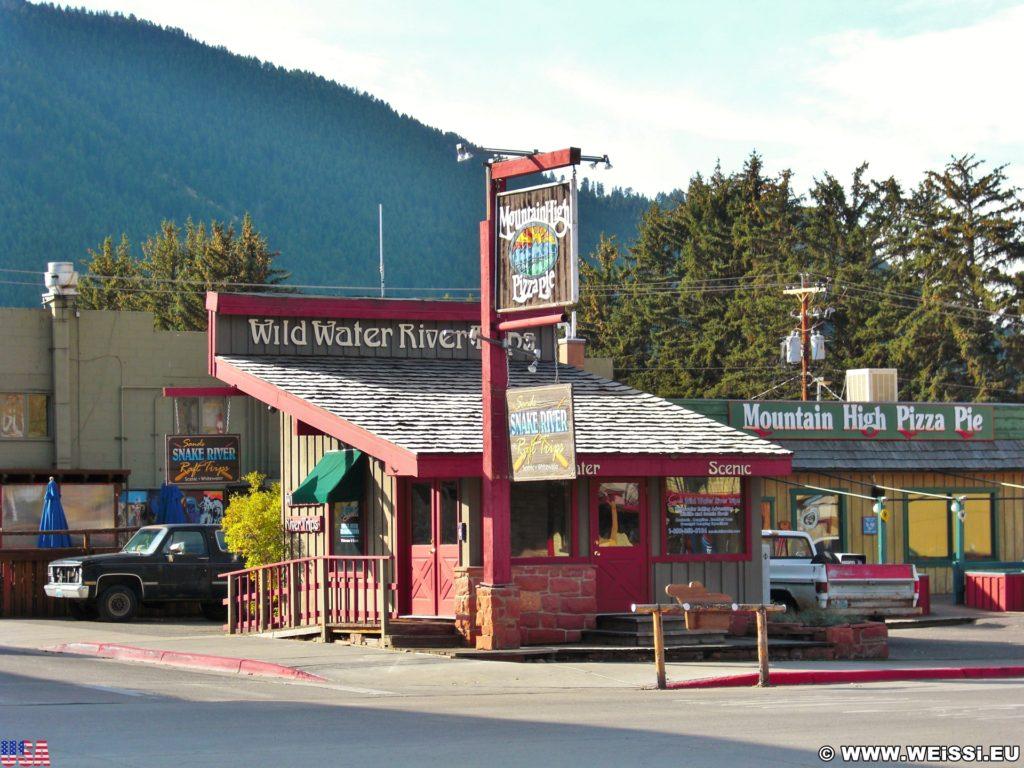 Jackson Hole. Mountain High Pizza Pie. - Gebäude, Mountain High Pizza Pie - (Jackson, Wyoming, Vereinigte Staaten)